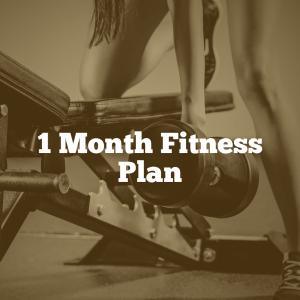 1 Month Fitness Plan