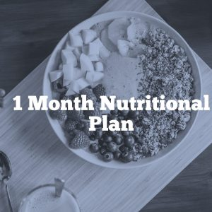 1 Month Nutritional Plan