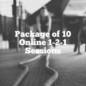 Package of 10 Online 1-2-1 Session